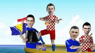 Brazil 2014  - Džeko i Modrić - A sad adio (parodija)