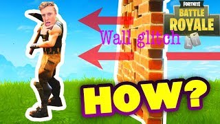 *New* Tfue Wall Glitch Tutorial!!! Fortnite Advanced Building Tips and Tricks