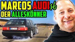 Marcos SLEEPER! - Audi S6 5Zylinder TURBO! - TRAILERFAHRZEUG oder DRAGRACER !?