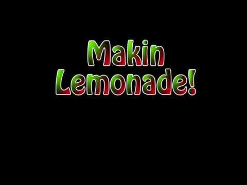 Makin aircrete lemonade!