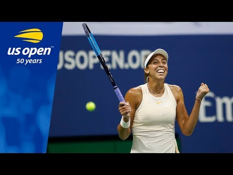 Highlights from Madison Keys' 6-4, 6-3 win over Carla Suarez Navarro