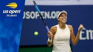 Highlights from Madison Keys' 6-4, 6-3 win over Carla Suarez Navarro
