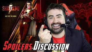 Shazam! Angry Spoilers Movie Review & Discussion!