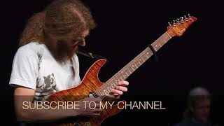 Guthrie Govan Style Jazz Fusion Backing Track (Gm)