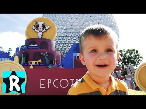 ВЛОГ Идем в Диснейленд Epcot Орландо США МИР БУДУЩЕГО от Дисней Видео Детям Disney EPCOT EPIC VLOG