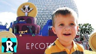 Путешествие в МИР БУДУЩЕГО ДиснейЛенд Epcot в Америке (Орландо, Флорида) ВЛОГ  Видео для Детей vlog