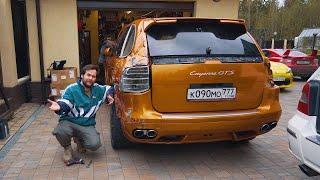 Восстановил Porsche за 16 тысяч рублей
