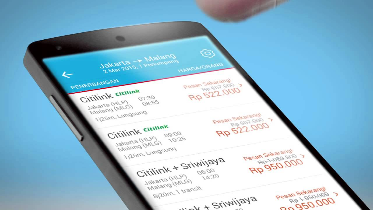 Cara Mencari Promo Tiket Pesawat Murah Dengan Aplikasi Traveloka Youtube