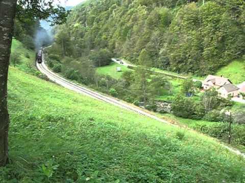 Muzejski vlak Nova Gorica-Bled Jezero-Jesenice,pri Hudajužni
