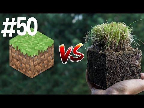 Thumbnail: Minecraft vs Real Life 50