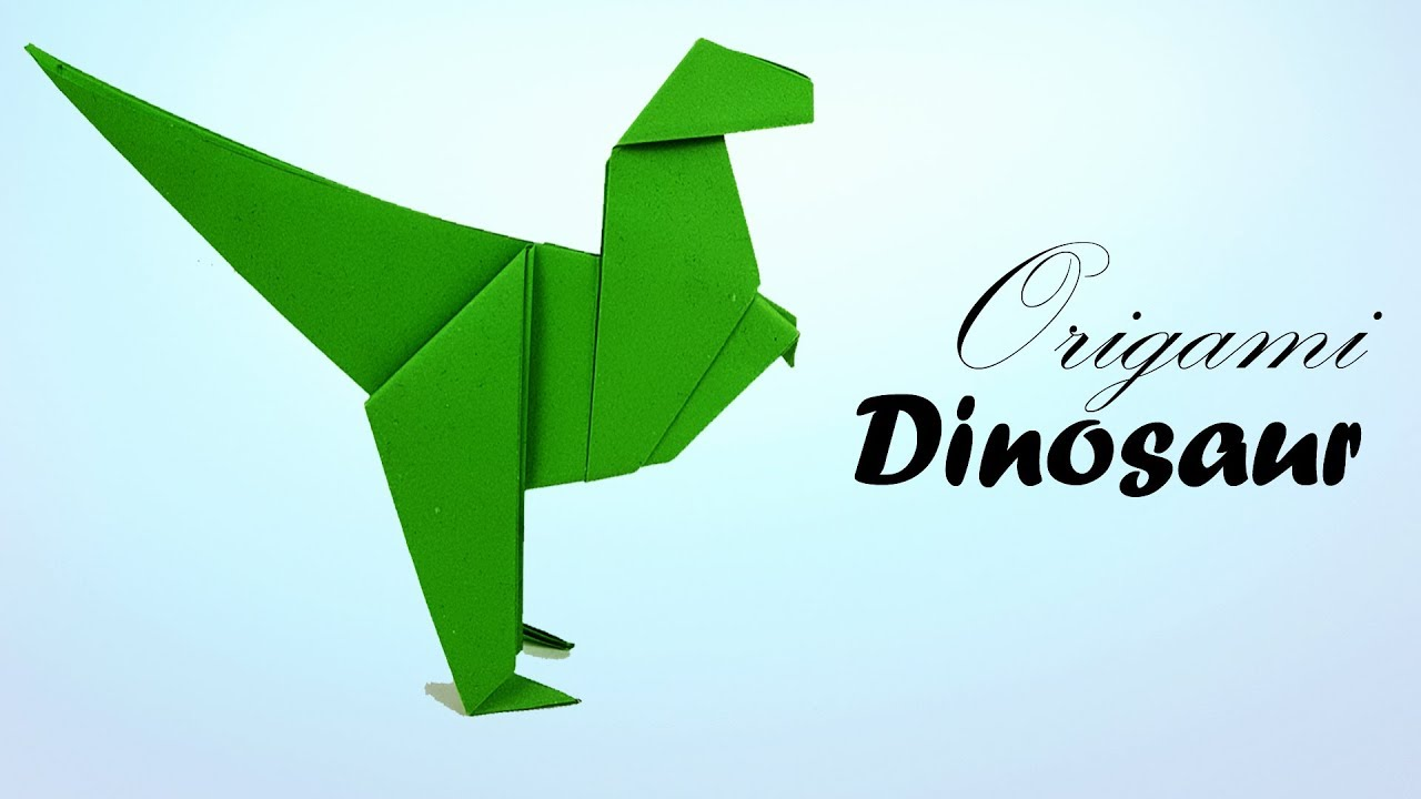 How to Make an Origami Dinosaur (with Pictures) - wikiHow | 720x1280