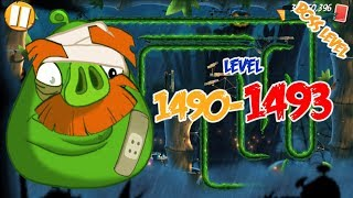 Angry Birds 2 Bamboo Forest Oinktario – LEVEL 1490–1493 BOSS LEVEL FOREMAN PIG