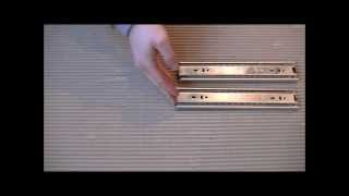 Full Extension Drawer Slides - Ball Bearing Runners For Kitchen And Bedroom Drawers By Buller Ltd