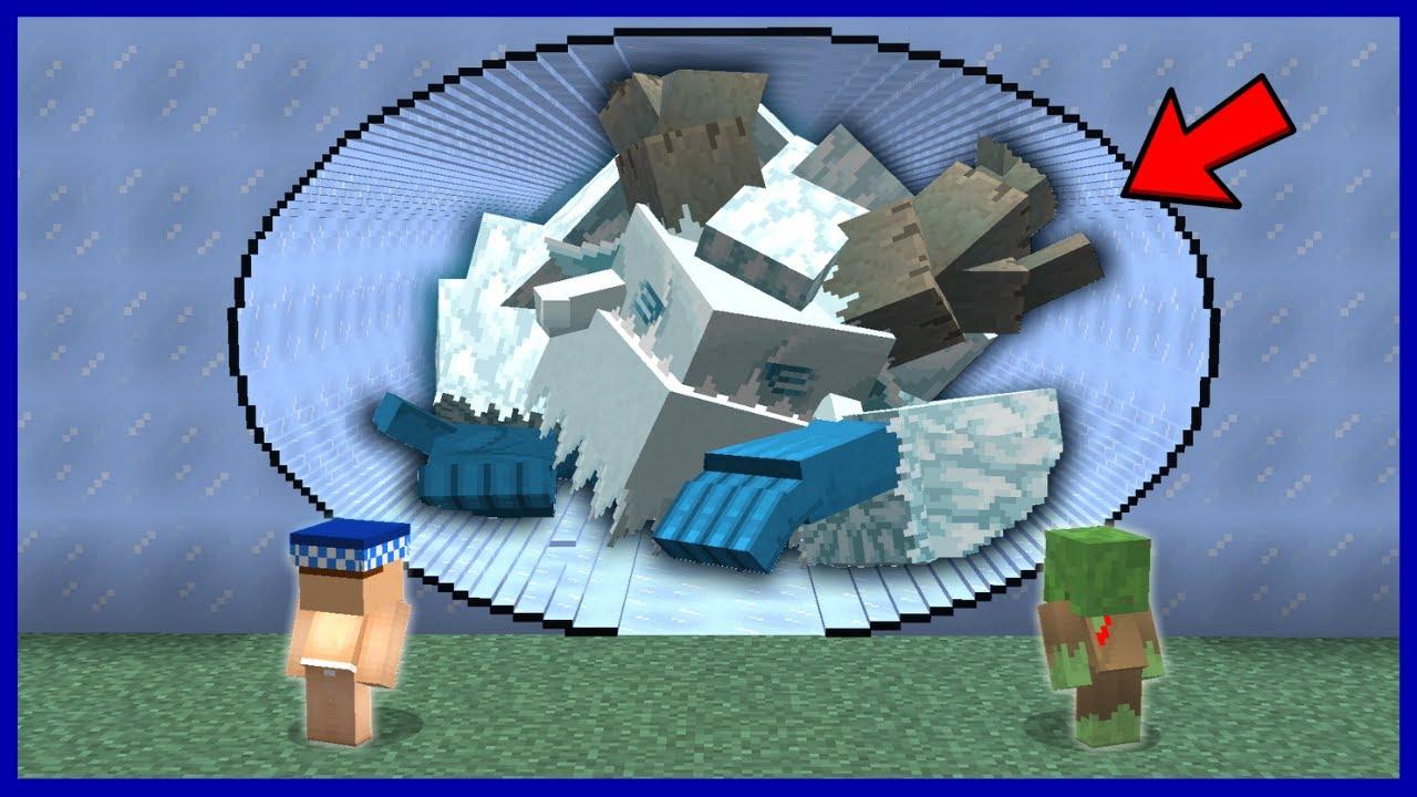 KAR CANAVARI VS TEHLİKELİ TÜNEL! 😱 - Minecraft