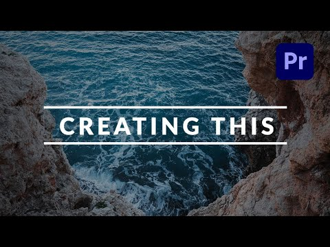 Create a Clean and Professional Title Reveal in Adobe Premiere Pro