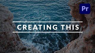 Erstellen Sie eine Saubere und Professionelle Titel Enthüllen, der in Adobe Premiere Pro