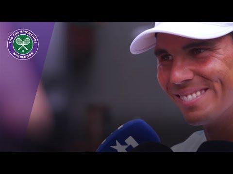 Rafael Nadal, Petra Kvitova and more at Wimbledon 2017 media day