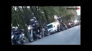 В Кременчуге почтили память погибших мотоциклистов