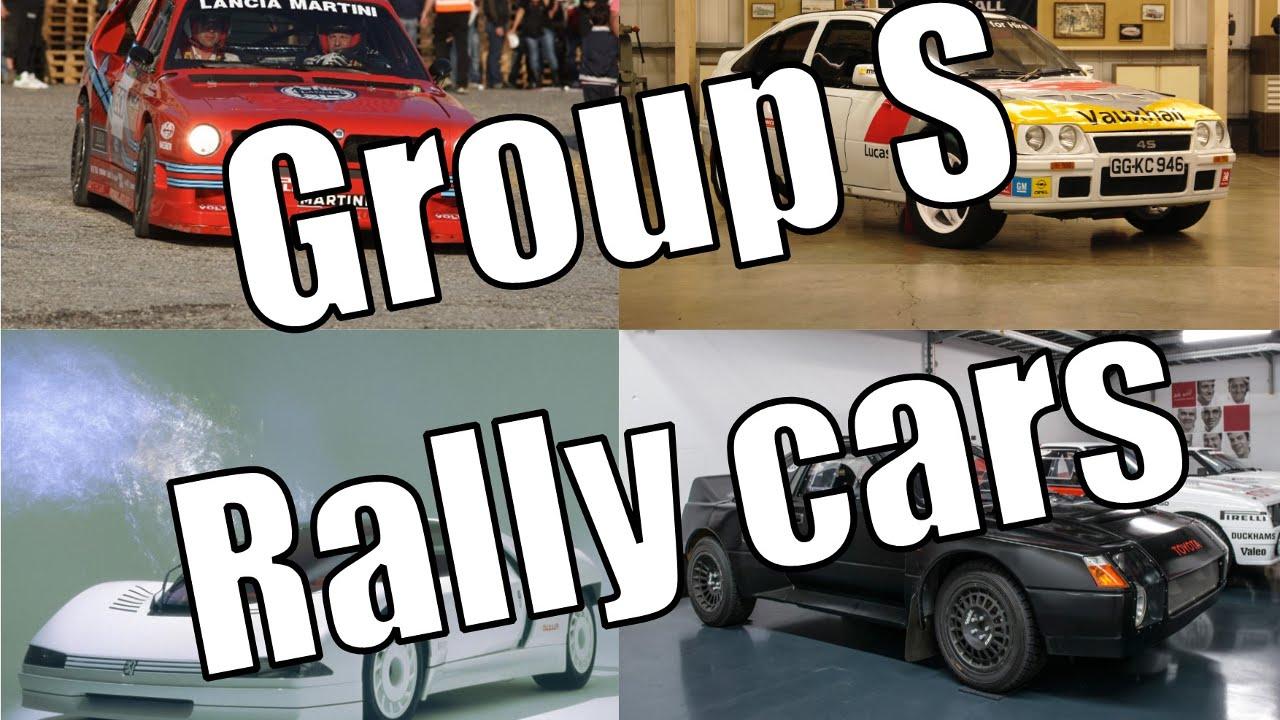 Groupe s rallye