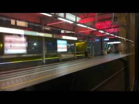 Brussels Metro (Bruxelles Metro Stib) - Petillion to Herrmann Debroux, line 5
