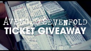 Avenged Sevenfold - Free Ticket Giveaway [Extra]