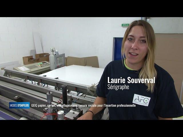 GEIQ papier, carton, emballages : une mesure sociale pour l'insertion professionnelle
