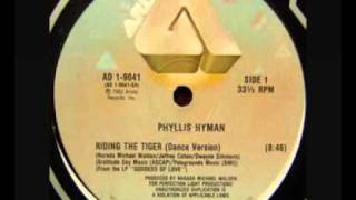 Phyllis Hyman - Riding The Tiger (Dance Version)