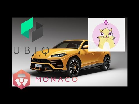 Crypto Kitties, Autonomous Cars, Monaco, & Ubiq! Market Update 5th December 2017