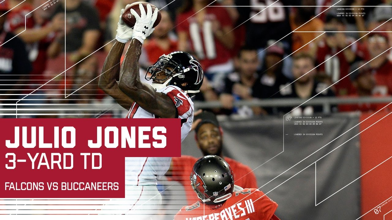 Must See Julio Jones Toe Tap Touchdown Catch Falcons Vs Buccaneers Nfl Youtube