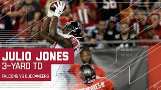 Must See: Julio Jones Toe-tap Touchdown Catch | Falcons vs. Buccaneers | NFL