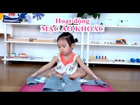 Kỹ Năng Sống Cho Trẻ Em - Trẻ 3 Tuổi Tại SMIS Biết Cách Tự Mặc áo