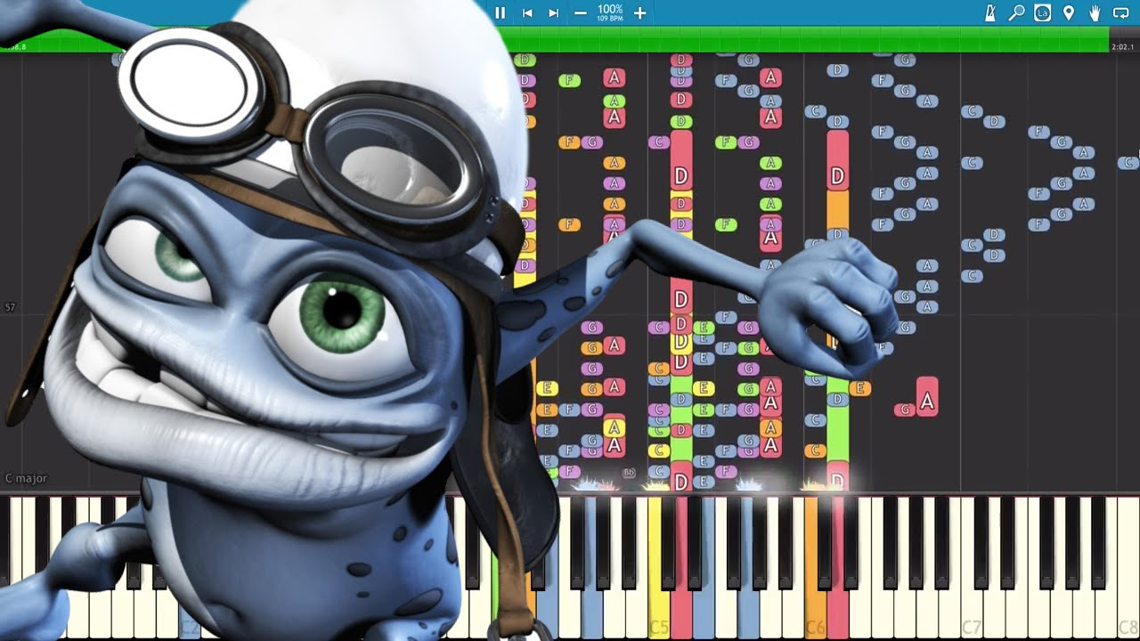 Epic Piano Cover Remix Crazy Frog Axel F