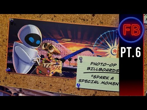 Blue Sky Cellar is back!  Let's take a tour of Pixar Pier  - 04/14/18 pt 6 (4K)