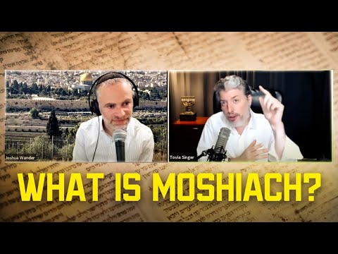 What Is Moshiach? An Interview With Rabbi Tovia Singer