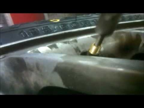 Changing a Valve Core on a Tire