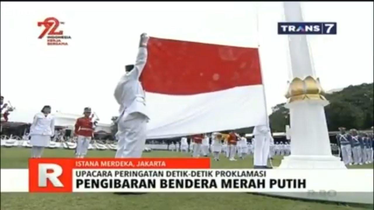 53+ Gambar Pengibaran Bendera Merah Putih 17 Agustus 1945 Kekinian