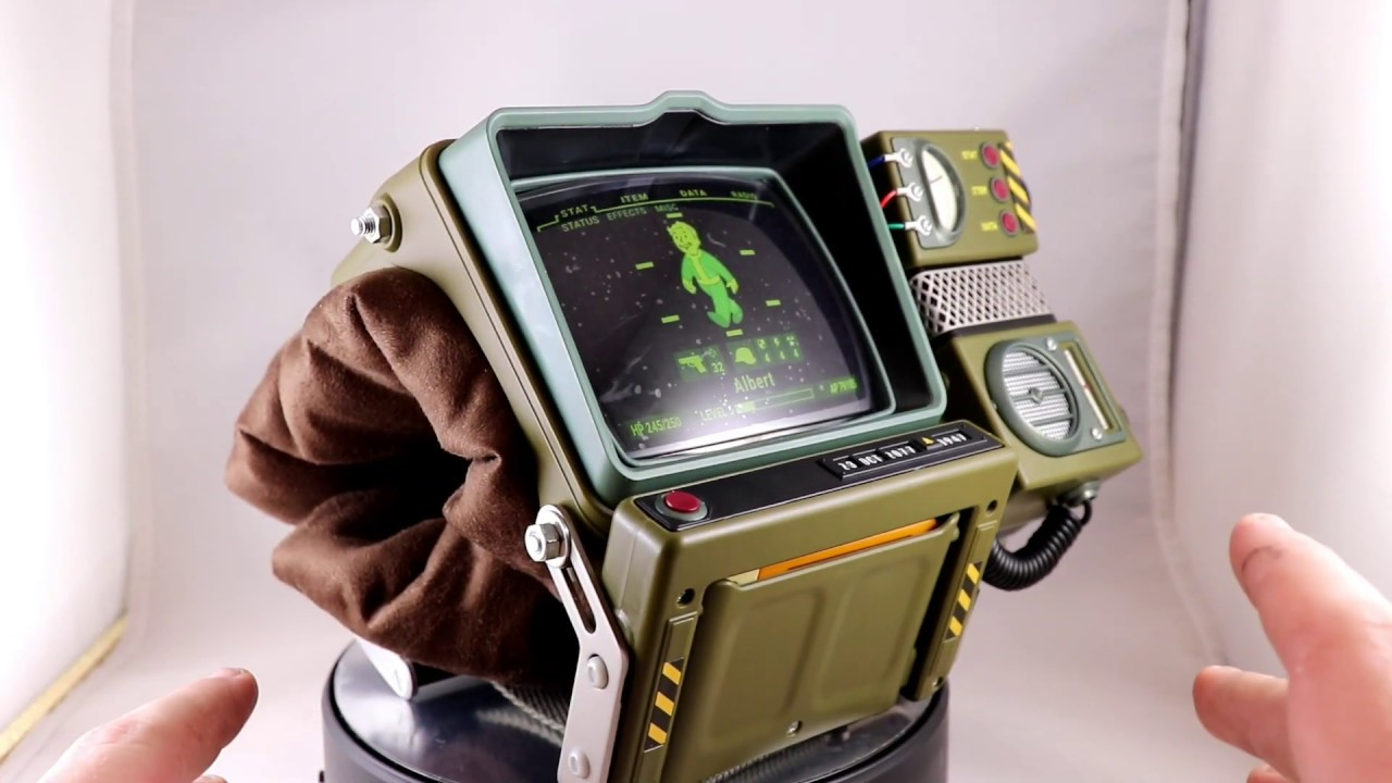 6d1867e2 Fallout 76 Pip-Boy 2000 Construction Kit Review - YouTube