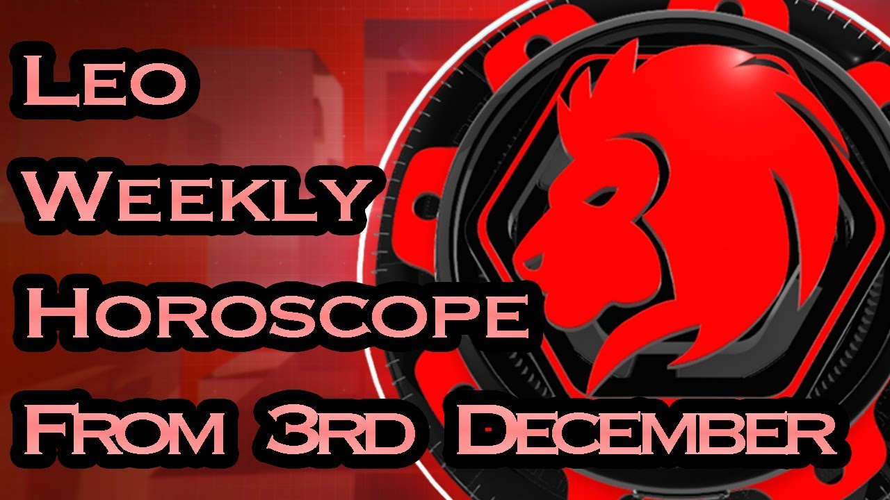leo weekly horoscope 6 january