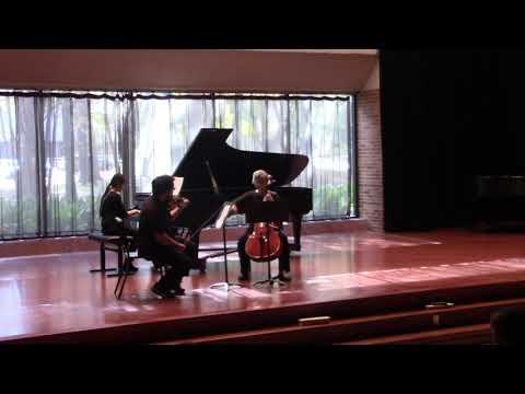 Max Bruch, Op 83, No. 6 Nachtgesang (Nocturne) Andante Con Moto- Violin, Cello, Piano