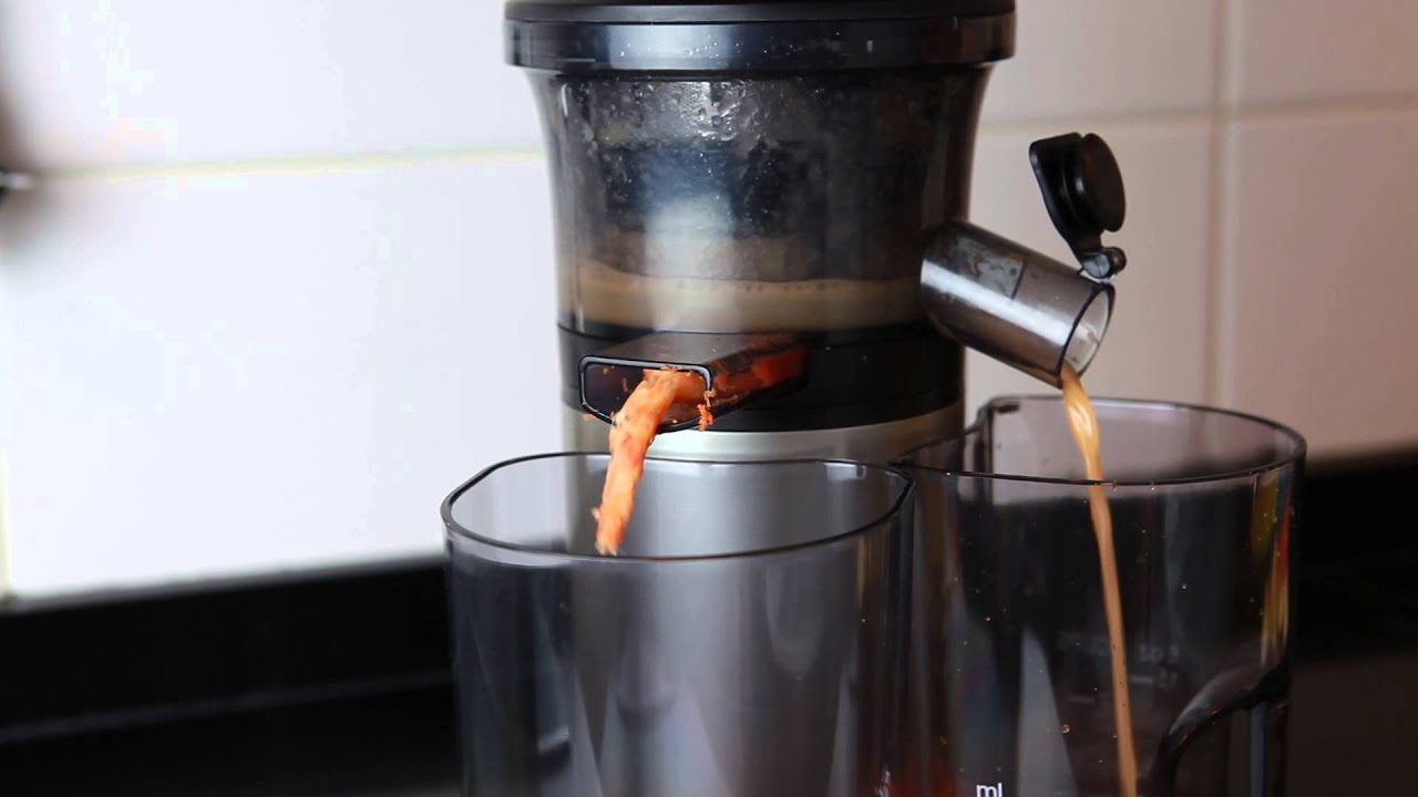 Slow Juicer Panasonic - YouTube