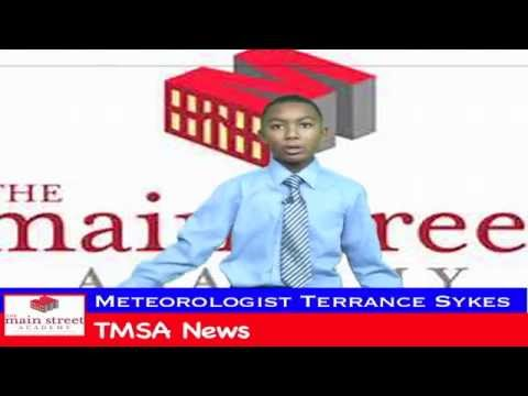 The Main Street Academy  Terrance Sykes Jr  Weather Report