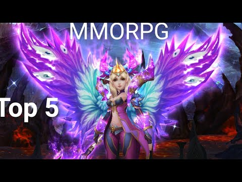 TOP 5 OPEN WORLD MMORPG ENGLISH VERSION ANDROID IOS NEW 2017