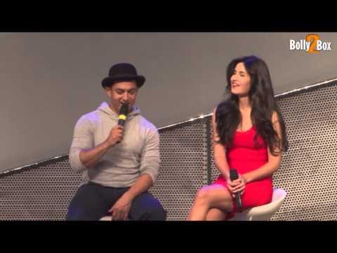 Aamir khan & Katrina Kaif FULL INTERVIEW AT YASH RAJ STUDIOS