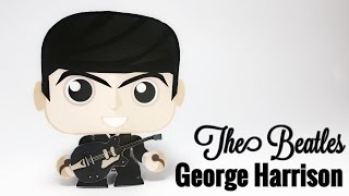 George Harrison Paper Crafts tutorial !