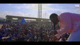 Mbosso Sound check Dodoma wasafi festival 2019