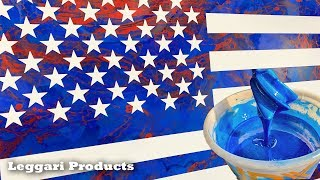 How To Make An Epoxy Flag | Step By Step Tutorial