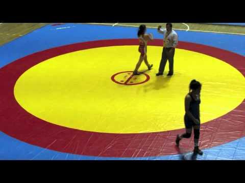 2012 Cadet Pan-American Championships: 52 kg Miranda Grotski (CAN) vs. Venezuela