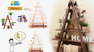 This is how to build a new DIY ladder shelf that I hope will make y...