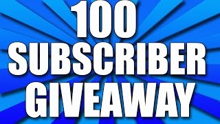 100 SUBSCRIBERS SPECIAL | THANK YOU | GIVEAWAY