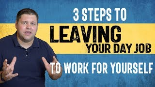 In this video ricky talks about leaving his day job to work for himself as an internet marketer. he outlines the steps anyone can follow switching from em...